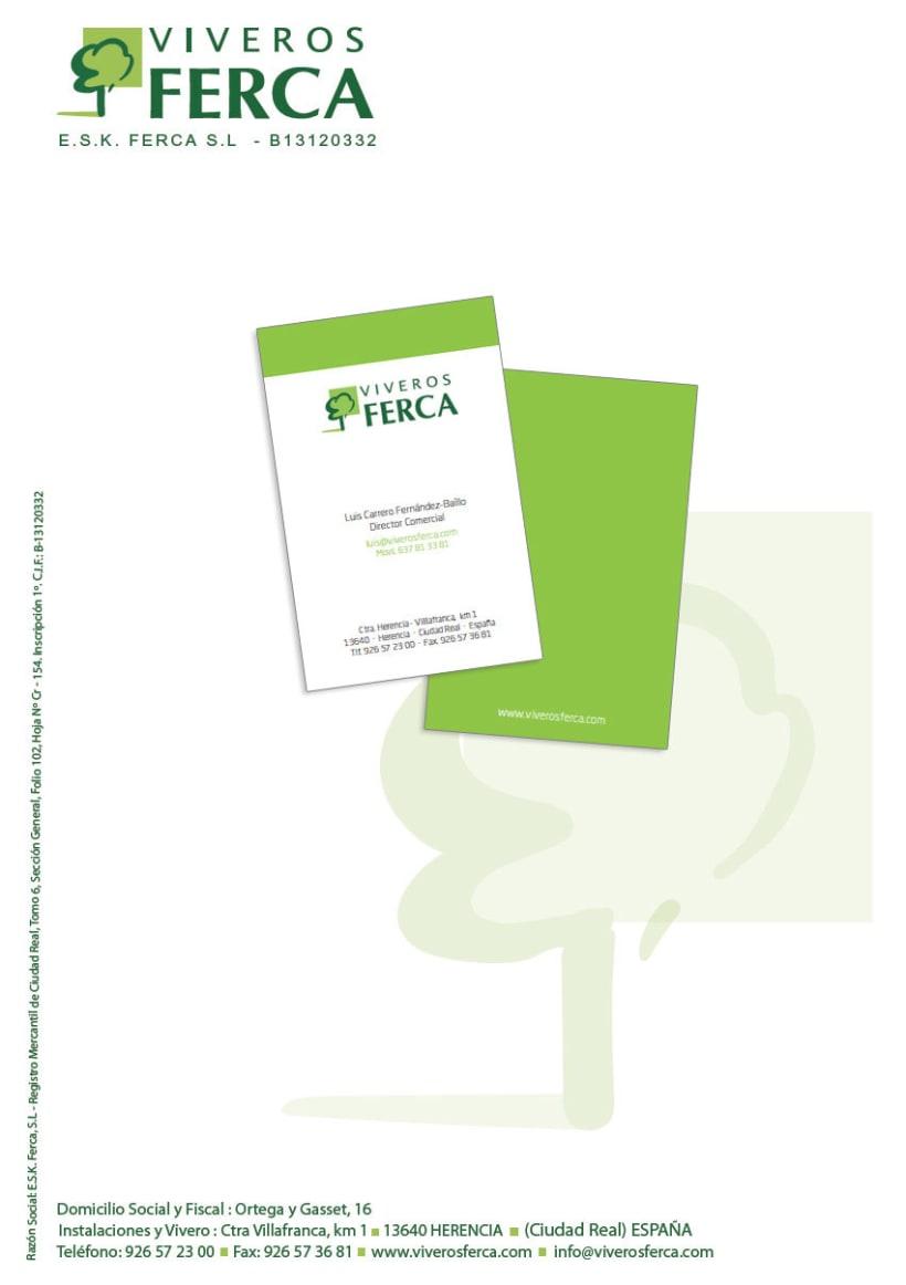 Viveros Ferca - Papeleria para empresa de viveros 1