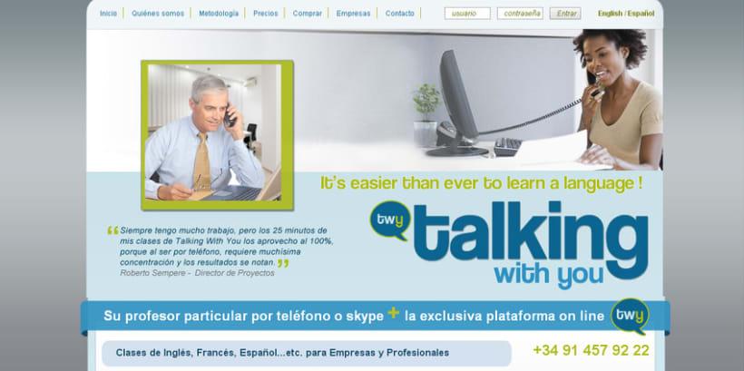 Talking With You - Idiomas por teléfono o Skype -1