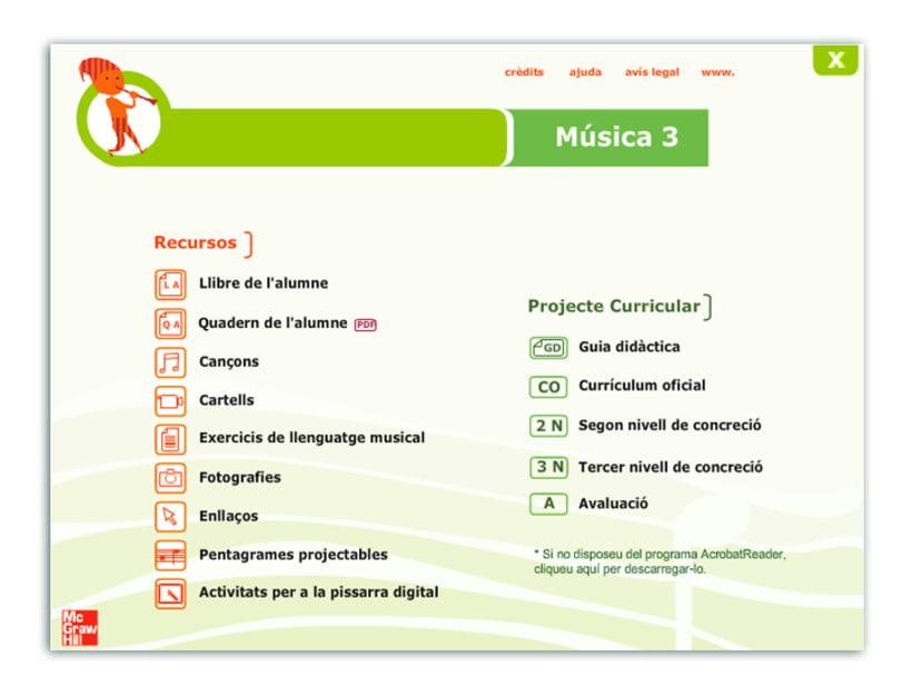 Actividades interactivas educativas de Música 1