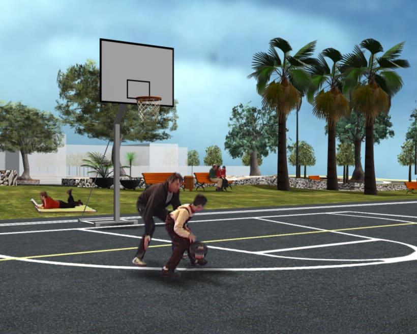 Proyecto 3D, Parc del Botafoc 2