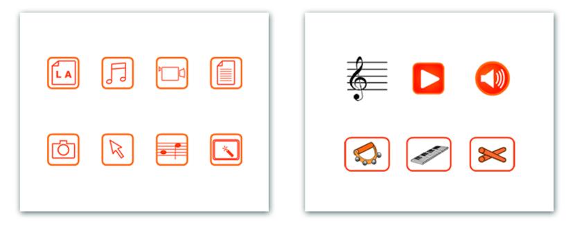Actividades interactivas educativas de Música 2