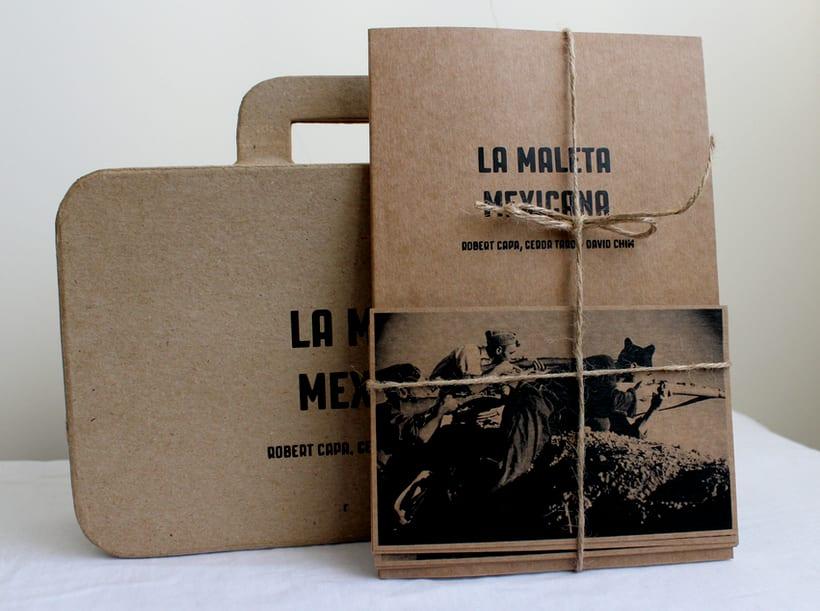 """Libro del documental """"La maleta mexicana"""" 0"""