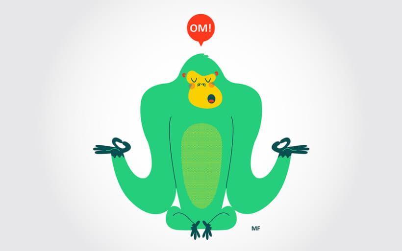 Camiseta Gorila OM! 1