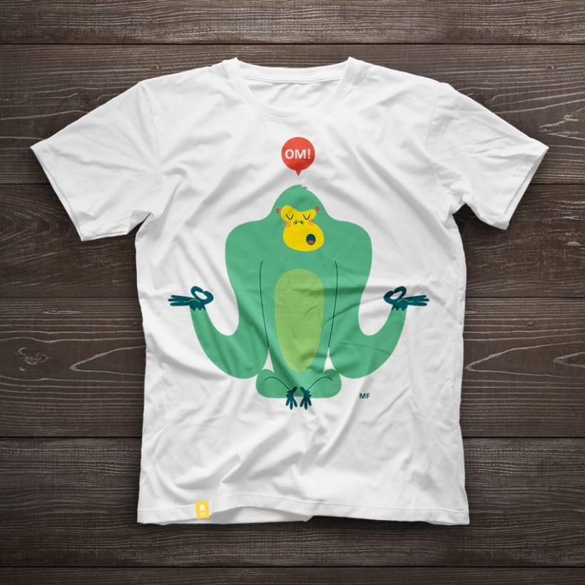 Camiseta Gorila OM! 3