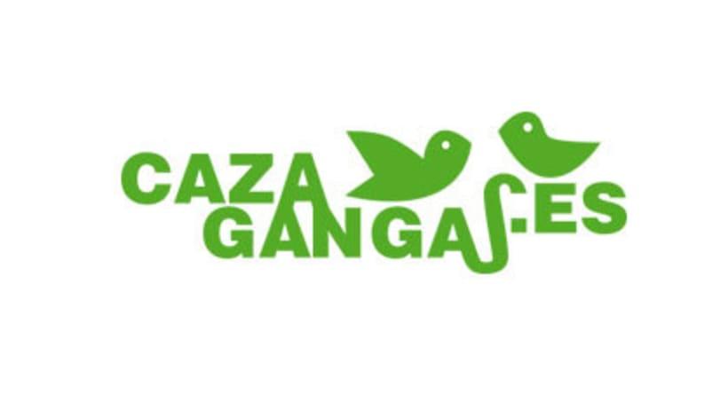 Logo, papelería y web de cazagangas.es 0