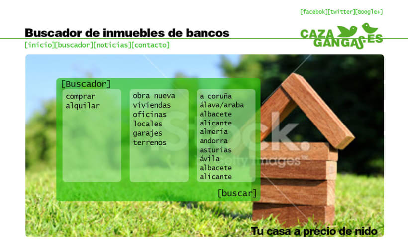 Logo, papelería y web de cazagangas.es 3