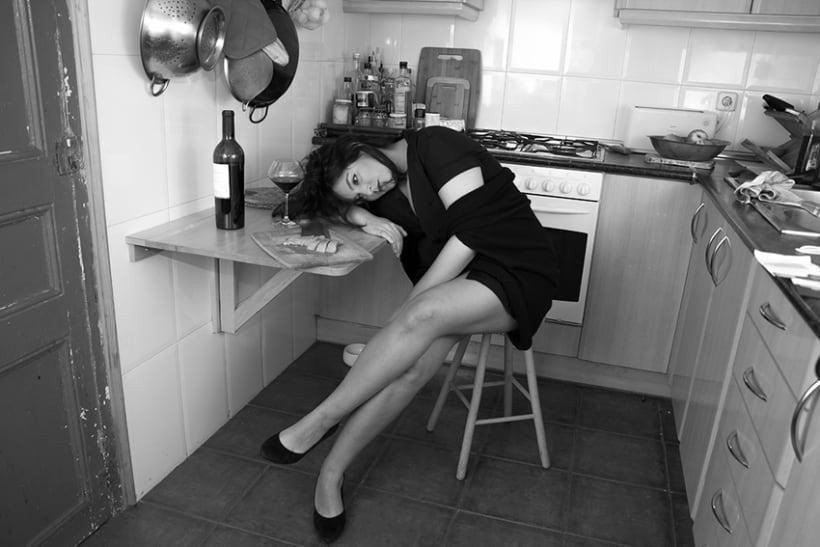 Une femme dans sa maison - Caroline 4