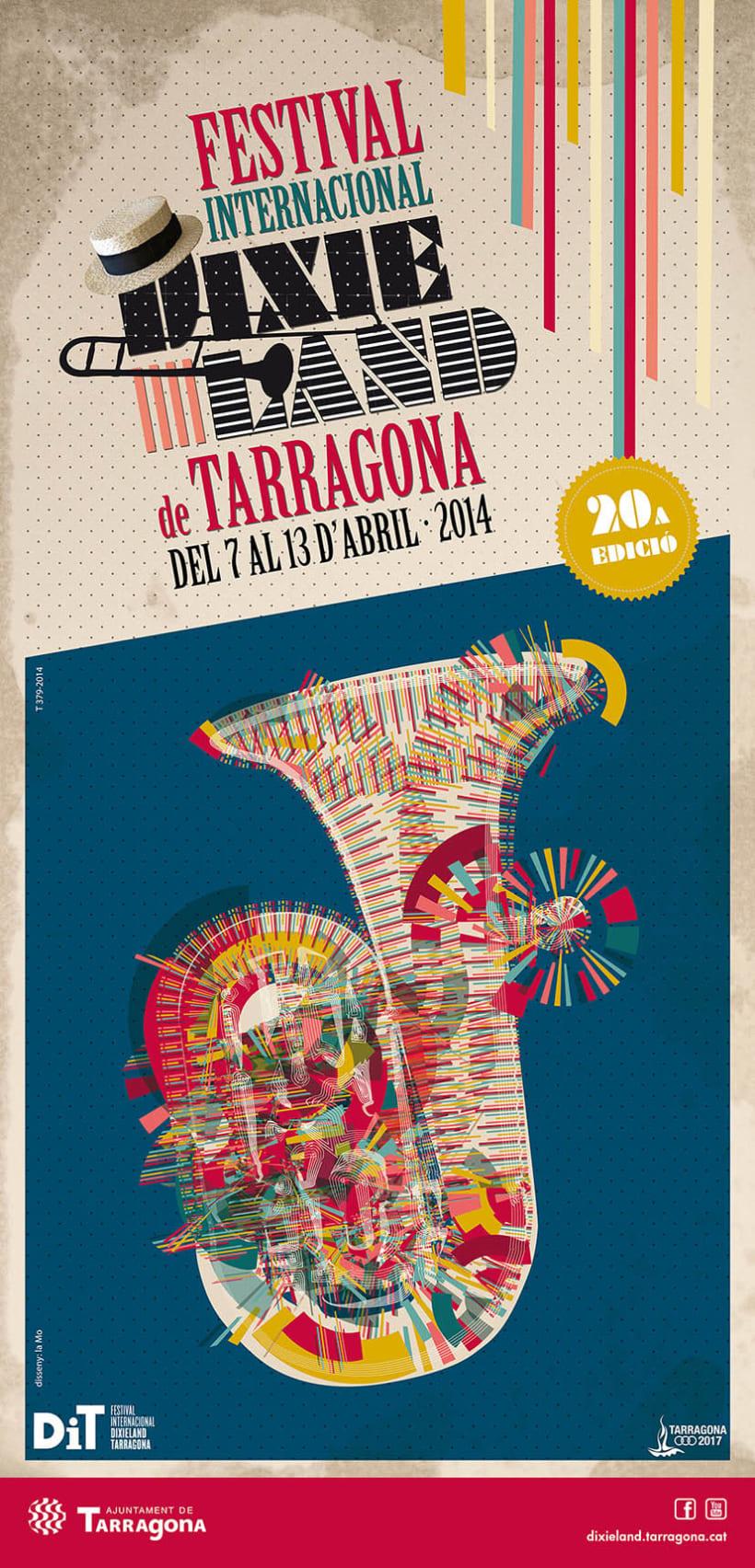 FESTIVAL INTERNACIONAL DIXIELAND TARRAGONA · 2014 0