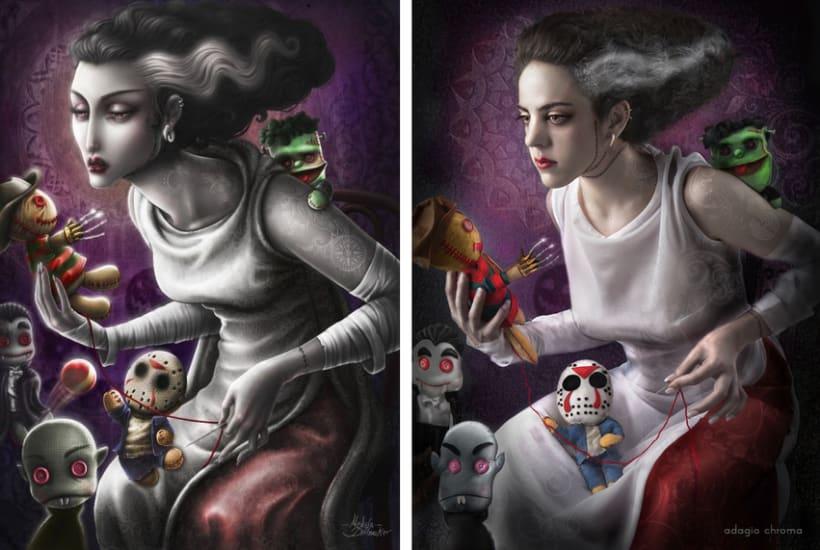 Inspired by Medusa the Dollmaker 4