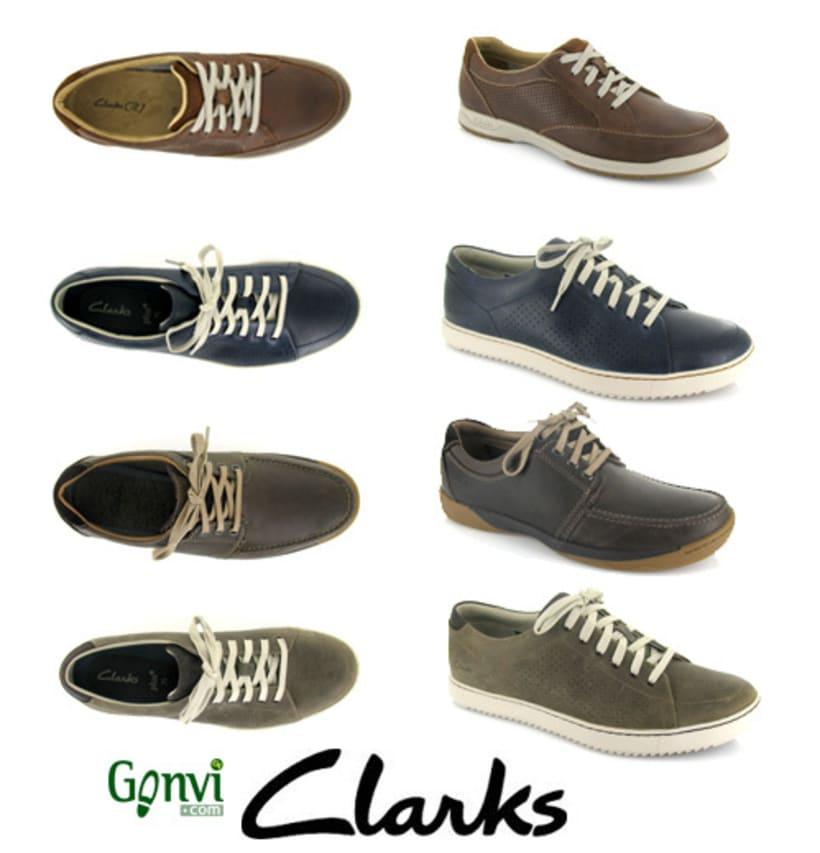 Portadas para Web y Blog de empresa de calzado. Gonvi. 1
