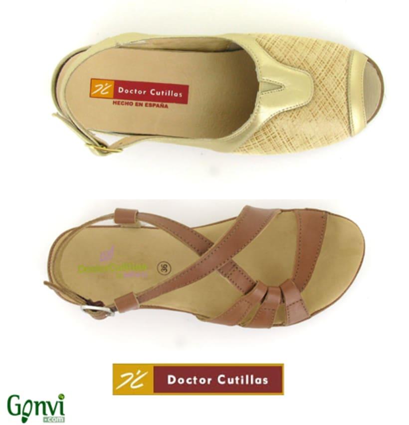 Portadas para Web y Blog de empresa de calzado. Gonvi. 3