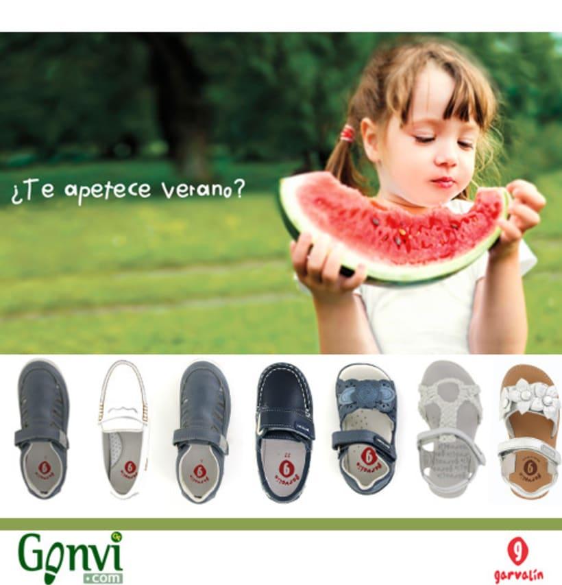 Portadas para Web y Blog de empresa de calzado. Gonvi. 7