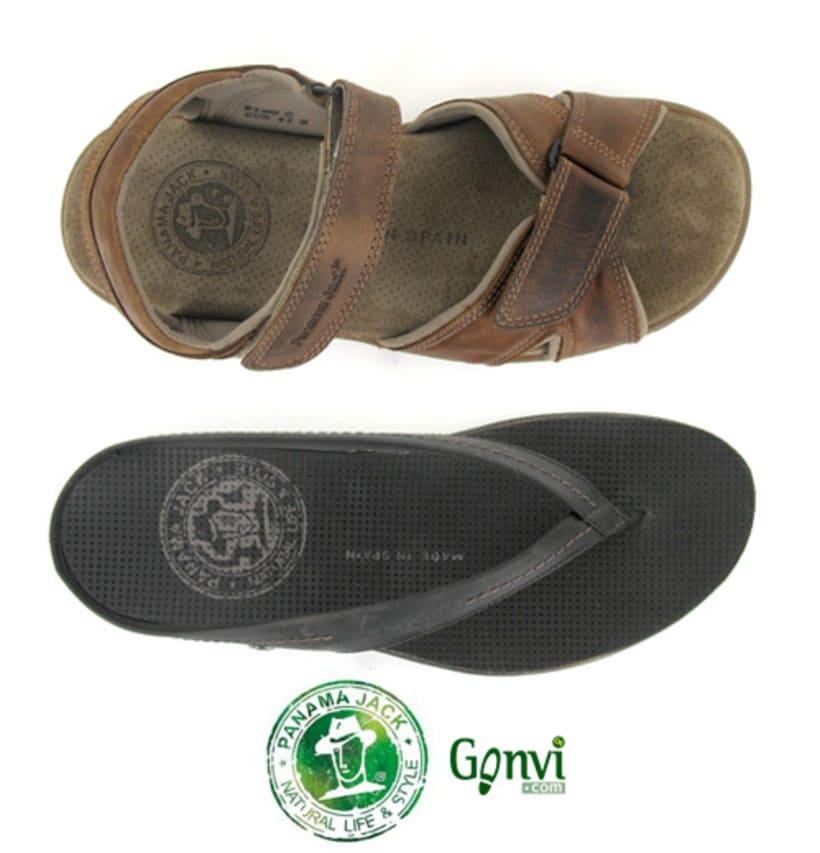 Portadas para Web y Blog de empresa de calzado. Gonvi. 19