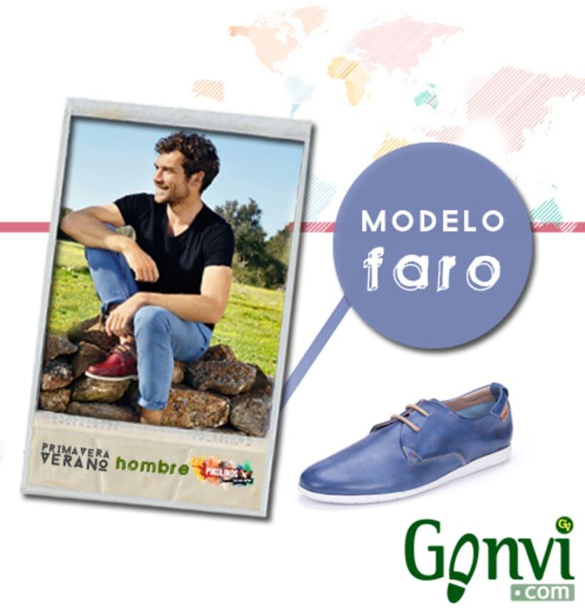 Portadas para Web y Blog de empresa de calzado. Gonvi. 23