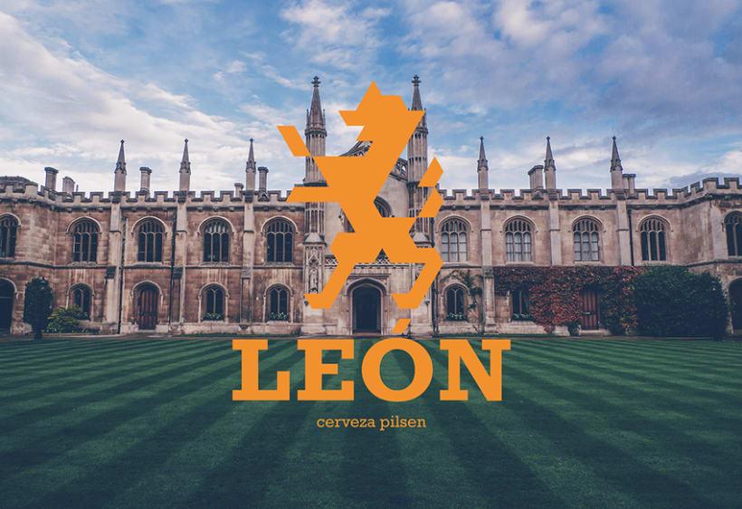 Cerveza León 1
