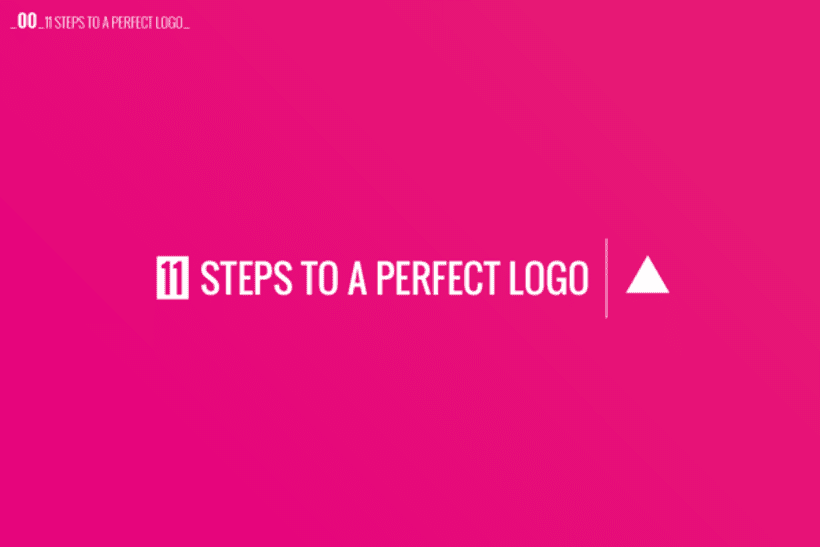 11 Steps to a perfect logo 0