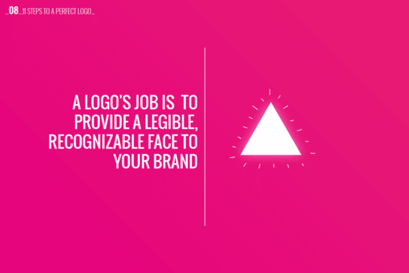 11 Steps to a perfect logo 8