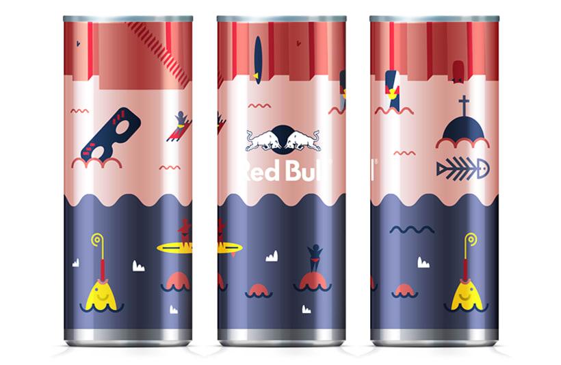 Latas edición limitada Red Bull - Carnaval Las Palmas 8