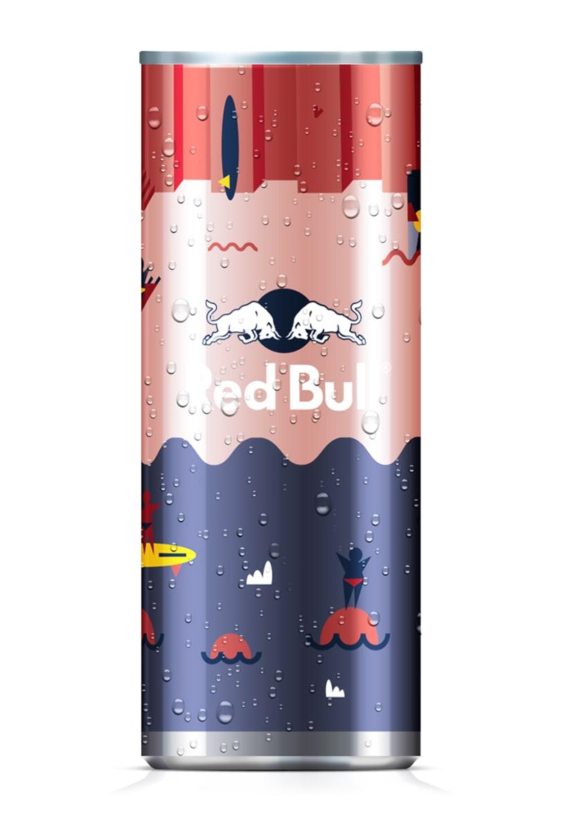 Latas edición limitada Red Bull - Carnaval Las Palmas 4