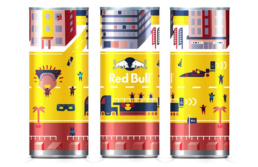 Latas edición limitada Red Bull - Carnaval Las Palmas 7