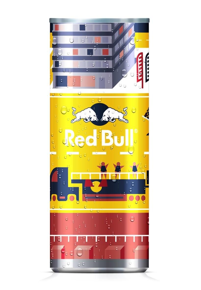Latas edición limitada Red Bull - Carnaval Las Palmas 3