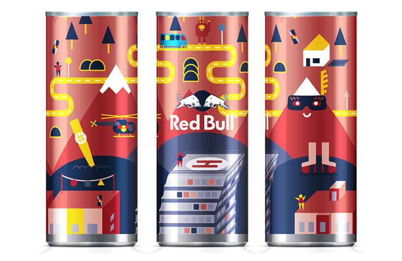 Latas edición limitada Red Bull - Carnaval Las Palmas 6