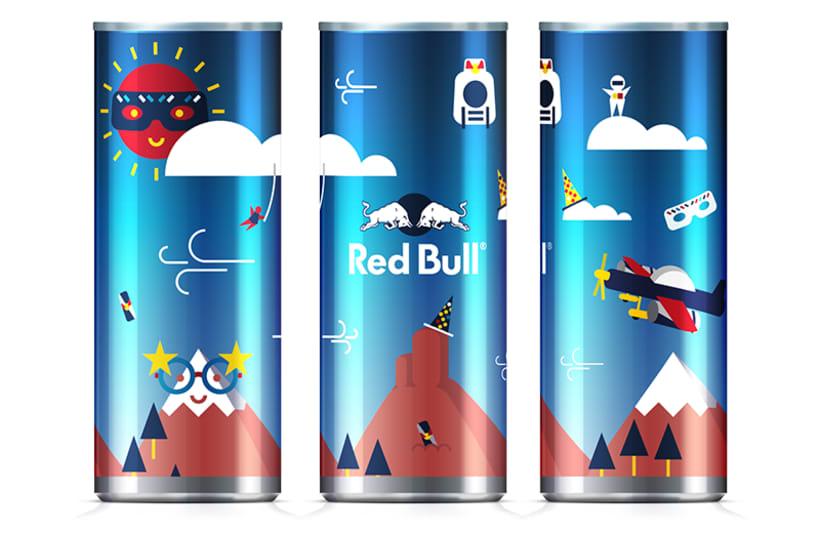 Latas edición limitada Red Bull - Carnaval Las Palmas 5
