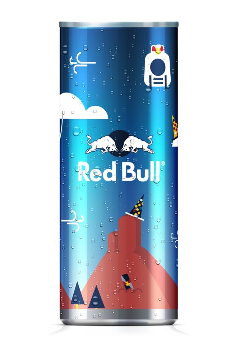 Latas edición limitada Red Bull - Carnaval Las Palmas 1