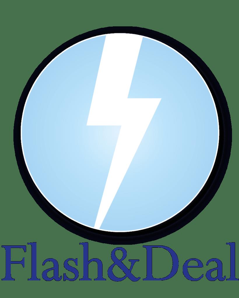 Logotipo Flash & Deal 0