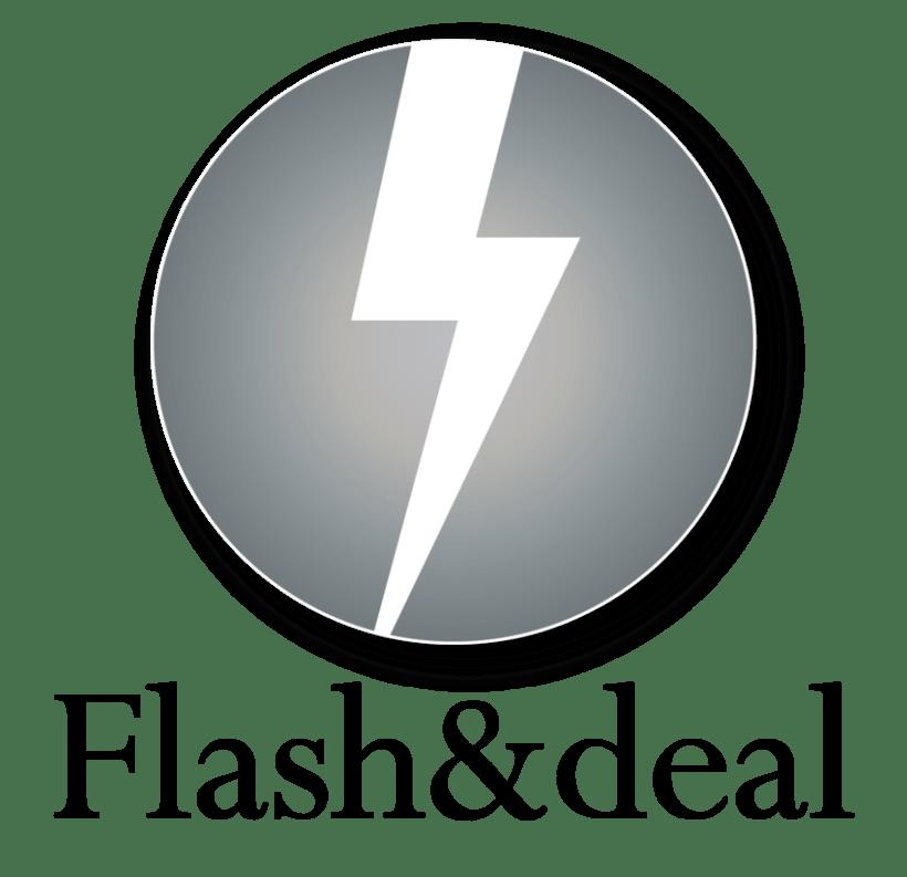 Logotipo Flash & Deal 1