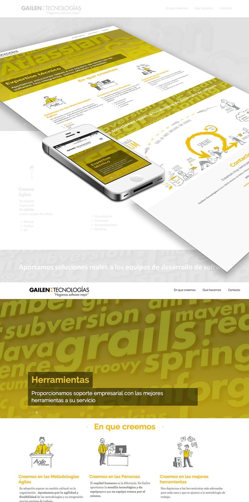 Web - Diseño corporativo UX y GUI 0