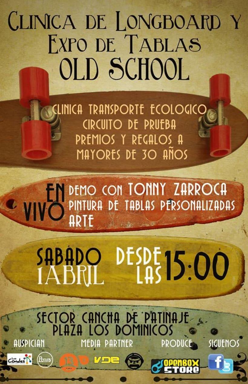 CLINICA LONGBOARD OLD SCHOOL / DESIGN 0