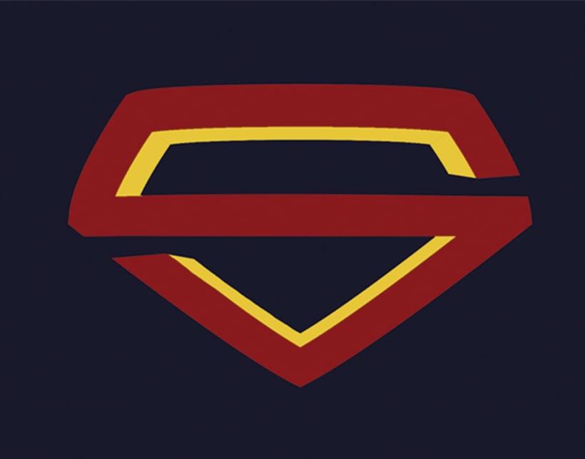 Propuesta: Rediseño de Marca Gráfica de Superman 4