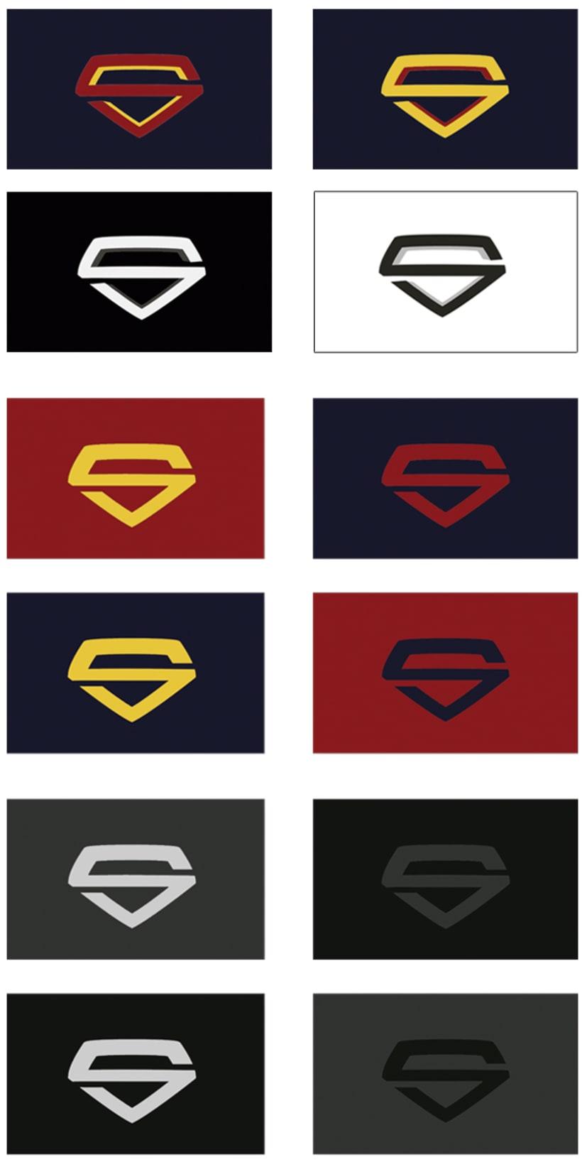 Propuesta: Rediseño de Marca Gráfica de Superman 6