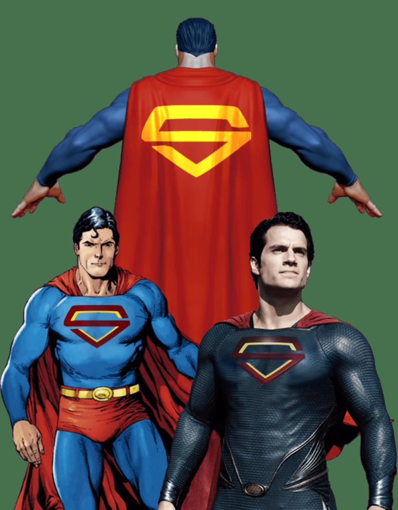 Propuesta: Rediseño de Marca Gráfica de Superman 9