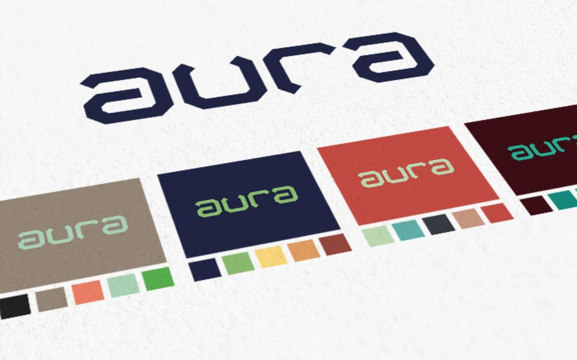 AURA Café. Diseño de Marca e Identidad. 5