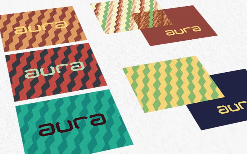 AURA Café. Diseño de Marca e Identidad. 6