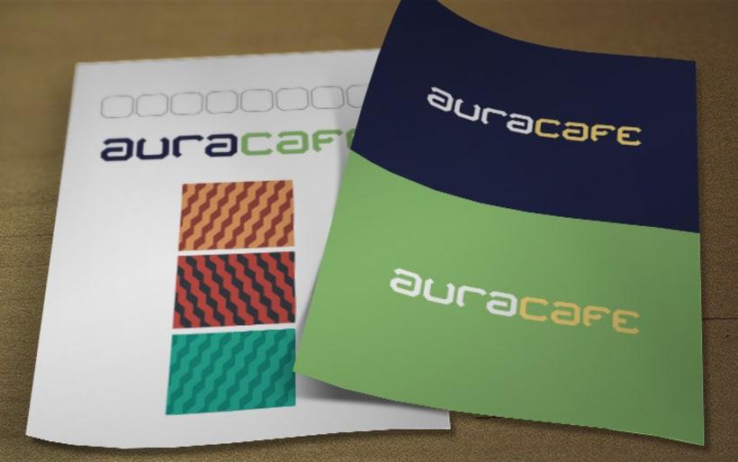 AURA Café. Diseño de Marca e Identidad. 7
