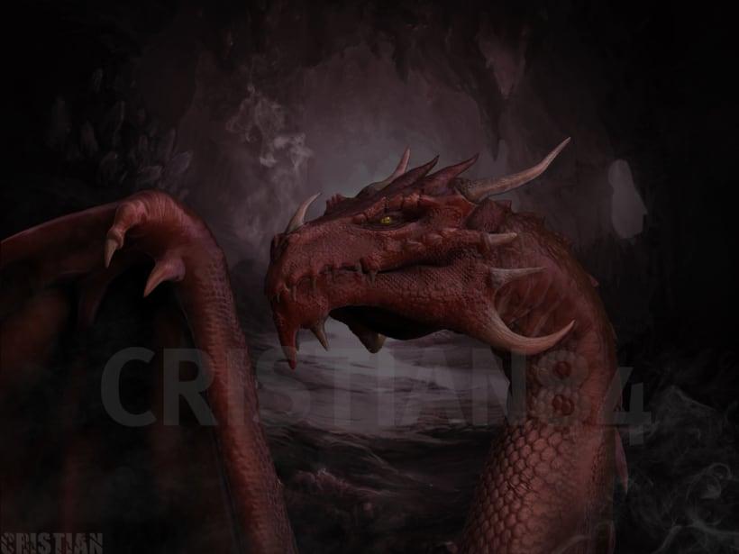 Dragon con Sculptris y Zbrush 3
