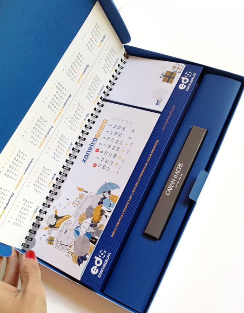 Calendario Espina & Delfín 2014 6