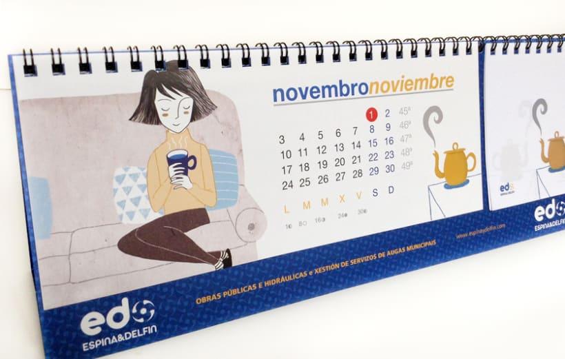 Calendario Espina & Delfín 2014 7