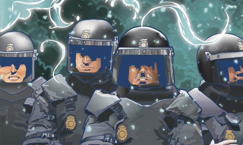 ▽ AntiPLAY police vector 1