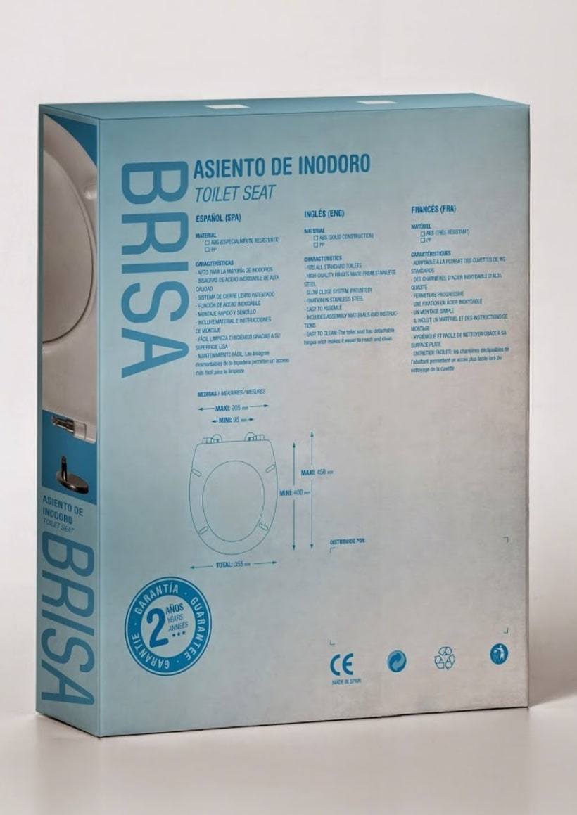 ▽ BRISA / WC PACKAGING DESIGN 2