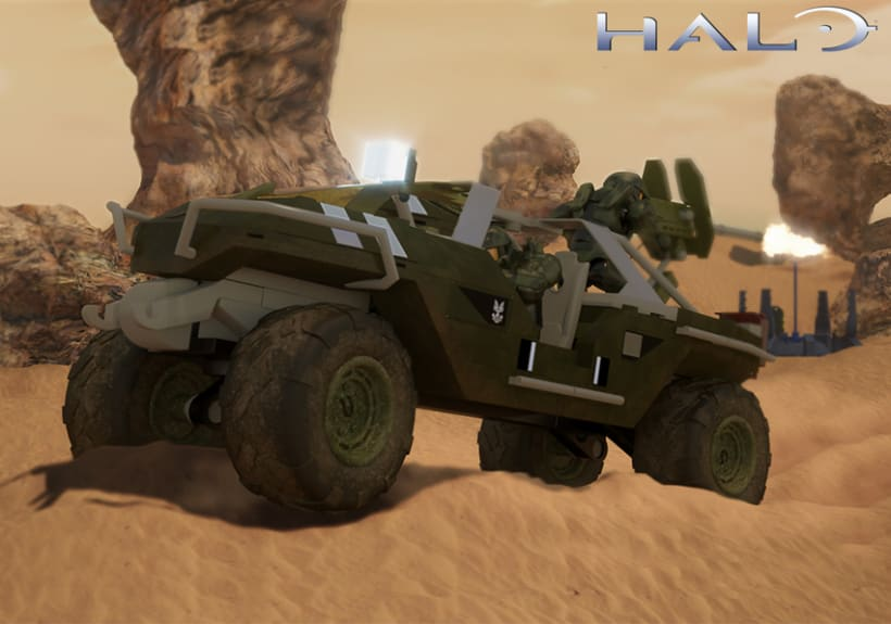Halo Megablocks advertising 2012  1