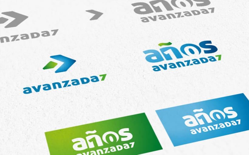 2002 - 2012 » Diez años Avanzada 7. Diseño de Marca y planificación de producción. 2