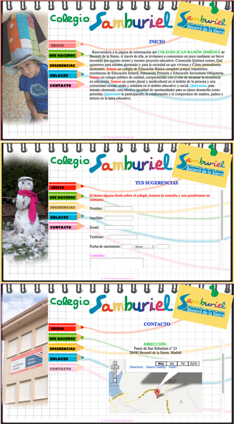 Web Colegio Samburiel -1