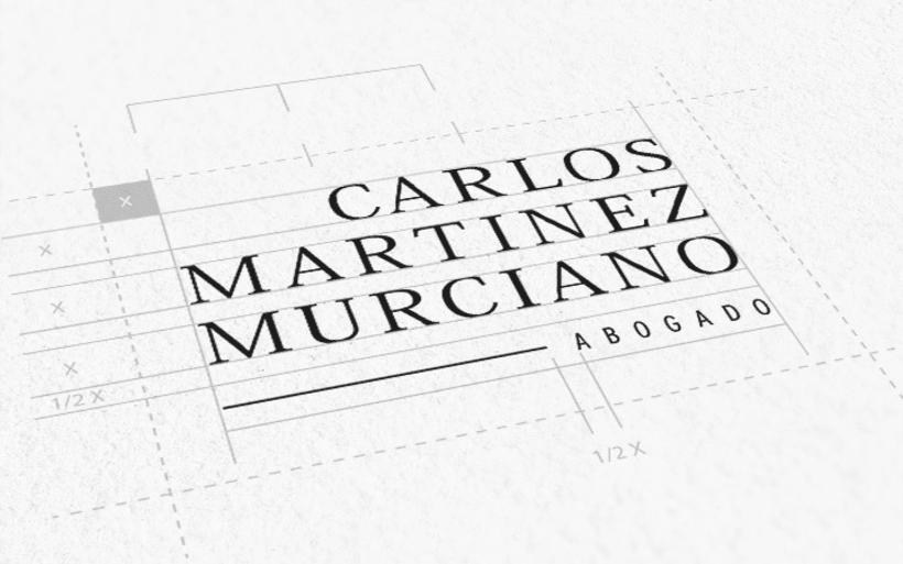 Carlos Martinez Murciano. Diseño de marca.  1