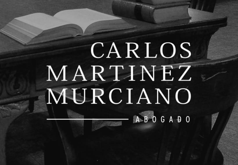Carlos Martinez Murciano. Diseño de marca.  0