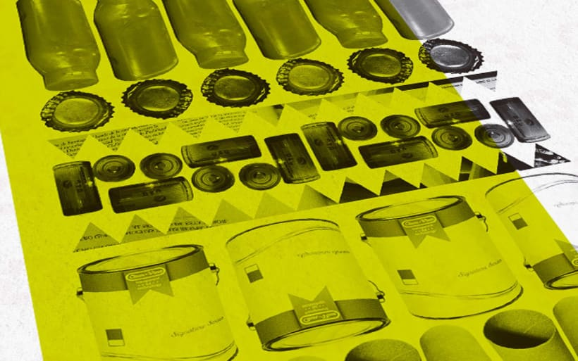 GIMKANA del Reciclado 2013 Cruz Roja.Diseño de Gráfica. 0