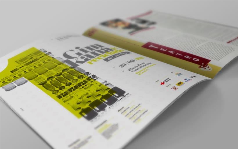 GIMKANA del Reciclado 2013 Cruz Roja.Diseño de Gráfica. 2